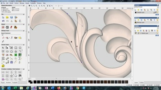 How to make 3d design in Artcam 2008 ( English +Hindi Language)