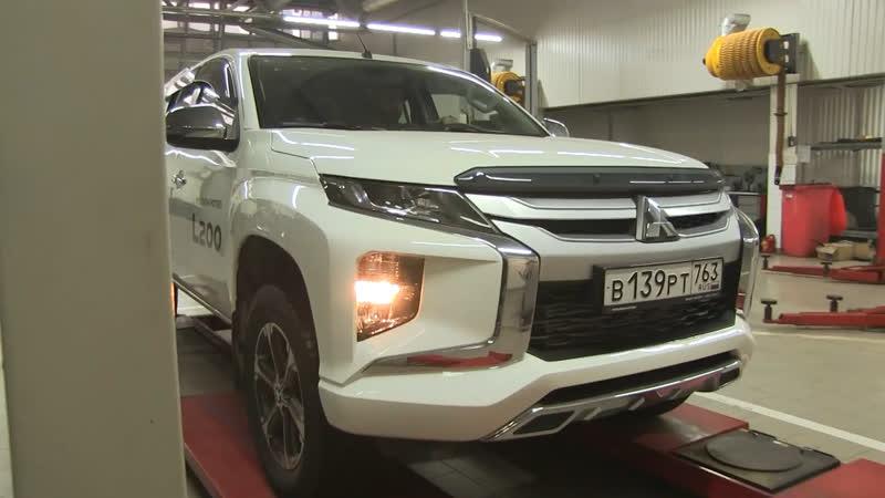 Развал схождение Ориент моторс официальный дилер Mitsubishi в Тольятти