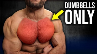 5min Home CHEST Workout Pt.2 (DUMBBELLS ONLY/ NO BENCH!!)