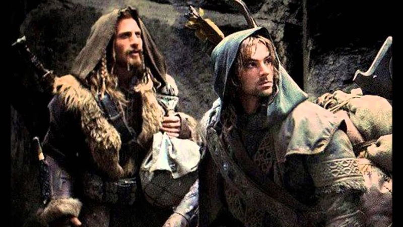 Thorin Fili and Kili The Prayer