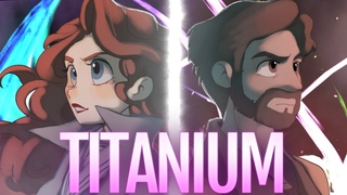 TITANIUM (Cover) - Caleb Hyles & @annapantsu- David Guetta [Lyrics]