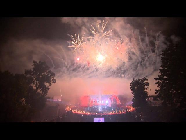Антон Авдеев, Виктория Жукова - Аллилуйя - Праздник закрытия фонтанов Петергофа 2015