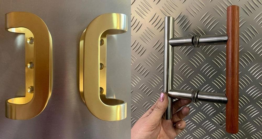 Производство дверных ручек на заказ