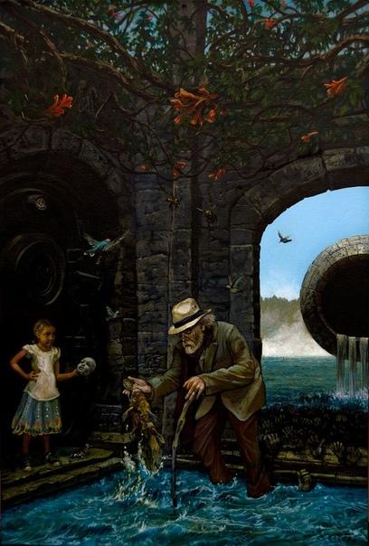 Картина «Руки противятся ему» проклята США, 2000 год наши дни. В 1974 году у 27-летнего художника Билла Стоунема выдался удачный денек. В его крохотную мастерскую заглянул известный коллекционер