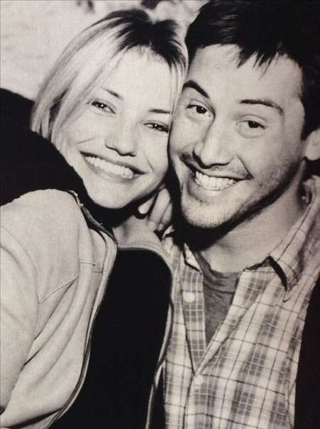 Киану Ривз и Кэмерон Диас, 1996