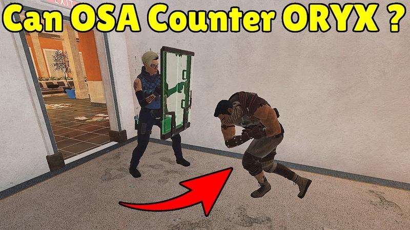 Can OSA Stop Counter ORYX Dash Rainbow Six Siege
