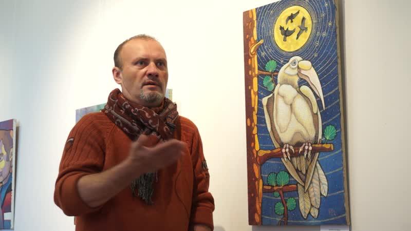 Картина Белая ворона Бориса Фомина