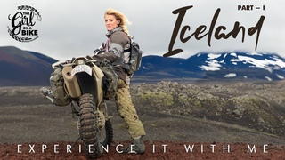 Off-road motorcycling through the heart of ICELAND - Part One - Ride With Locals The Girl On A Bike