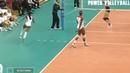 Невероятные спасения в волейболе. Incredible rescue in volleyball.