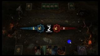 GWENT Online ( Гвинт Онлаин) Эпический бой, чудовищ против чудовищ. И нелепое поражение. До слёз!