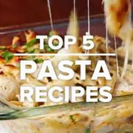 id_55251 Пять вкусных рецептов пасты 🍝  Приготовь — тебе понравится 😉  Автор: Tasty  #gif@bon