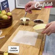 """id_54711 """"Груши с шоколадом"""" — невероятный десерт как в ресторане 🍫🍐  Автор: Chef Club  #gif@bon"""