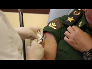 Сергей Шойгу привился от коронавируса