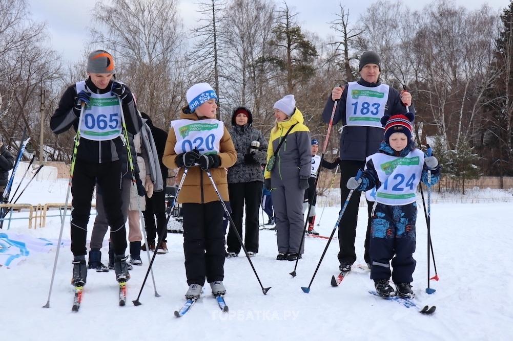 Селивановской лыжне