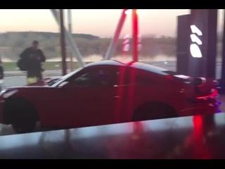 Вот и первый фотоотчет с нашей сегодняшней работы на презентации Porsche 911. 👌🏽 ⠀