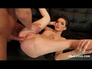 Nata Paradise welcome to Porn with Balls Deep Anal, Gapes and Cum in Mouth