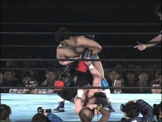 Minoru Suzuki vs Tatsuo Nakano  UWF