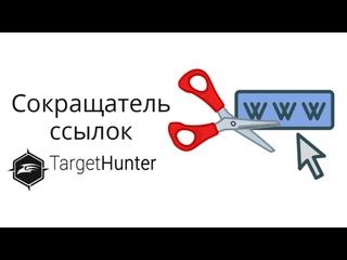 Обзор сокращателя ссылок в Target Hunter