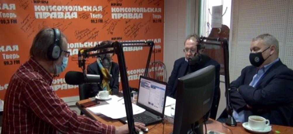 О научной жизни ТвГТУ рассказали в эфире радио «КП -Тверь»