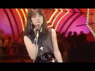 Красивая Японская Певица Прошлого Мигуми Ячиро Тёмный Ангел 1984 Красивый Клип