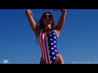 ⭐ Girls for sex here >  ⭐ Melena Maria Rya - Happy 4th Of July [Solo]