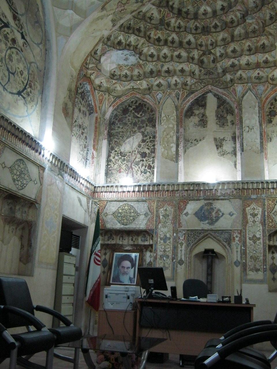 В замке Карим Хана в Шираз