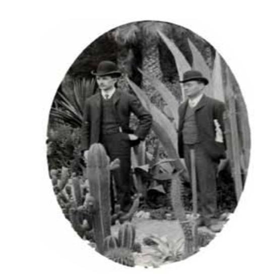 Макс Гендель (справа) в Лос-Анджелесе