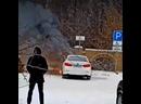Сгорела камри на Мажорке