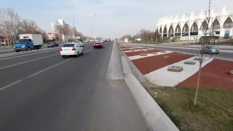 Педагогический Университет имени Низами, метро Чиланзар, стадион Бунёдкор