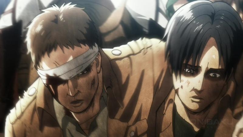 Shingeki no Kyojin Attack on Titan OVA 3 Вторжение Гигантов ТВ 2 Серия 3 Zendos Eladiel Атака титанов