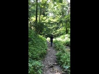 Личное видео из инстаграм историй Спенсера (04/07/19)