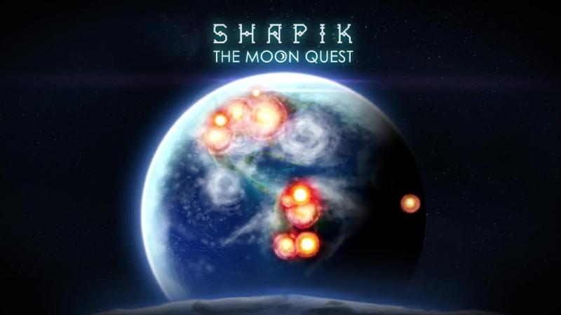 Вышла игра Shapik The Moon Quest!