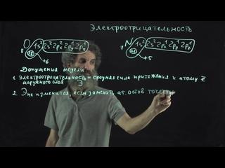 Цитология. Лекция 43. Электроотрицательность