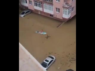 2204 Турция. Дождь. Провинция Измир. 2 февраля 2021.