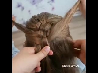 Видеоурок красивого плетения