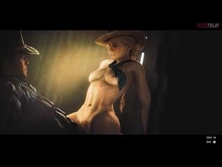 Red Dead Redemption 2 Sadie Adler by FUGTRUP [ sfm nsfw 3D R34 Blender hentai Porn Rule34 ]