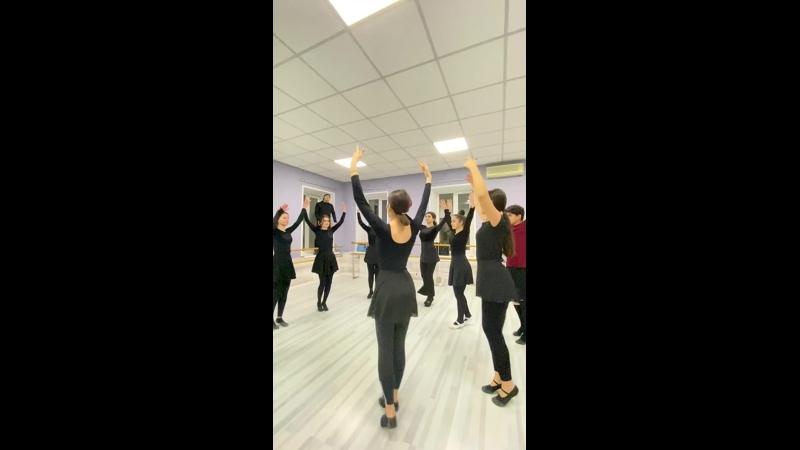 Школа кавказских танцев | Ансамбль ALLON| Москва Цветной Бульвар