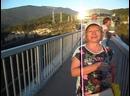 Самый длинный подвесной мост на высоте 2007 метров над уровнем моря