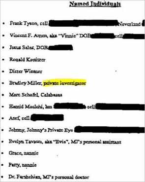 Первоначальный план показал, что прокуратура знала, кто такой Брэд Миллер.