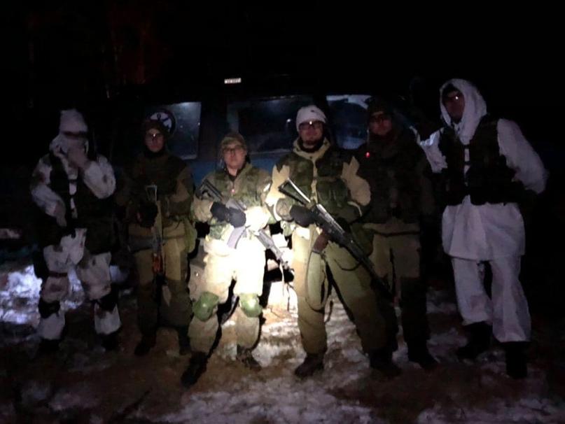 Команда МСК «ВМП Рейд» во время ночной фазы игры