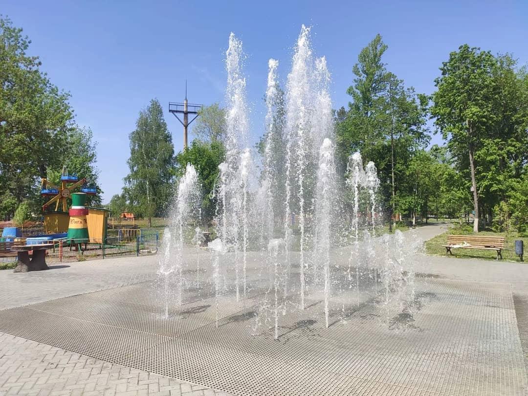 Администрация Петровского района сообщила о предстоящих профилактических работах по очистке фонтана в парке культуры и отдыха