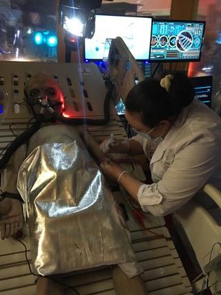 Выставка инопланетян в МТВ центре