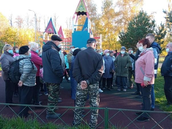 В посёлке Дорохово состоялась встреча с жителями