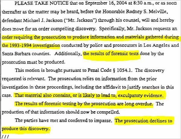 Секреты, раскрытые судебными документами во время поиска «жертв» Майкла Джексона., изображение №12