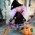 Текстильные хэллоуинские ведьмочки своими руками — идеи и выкройкам