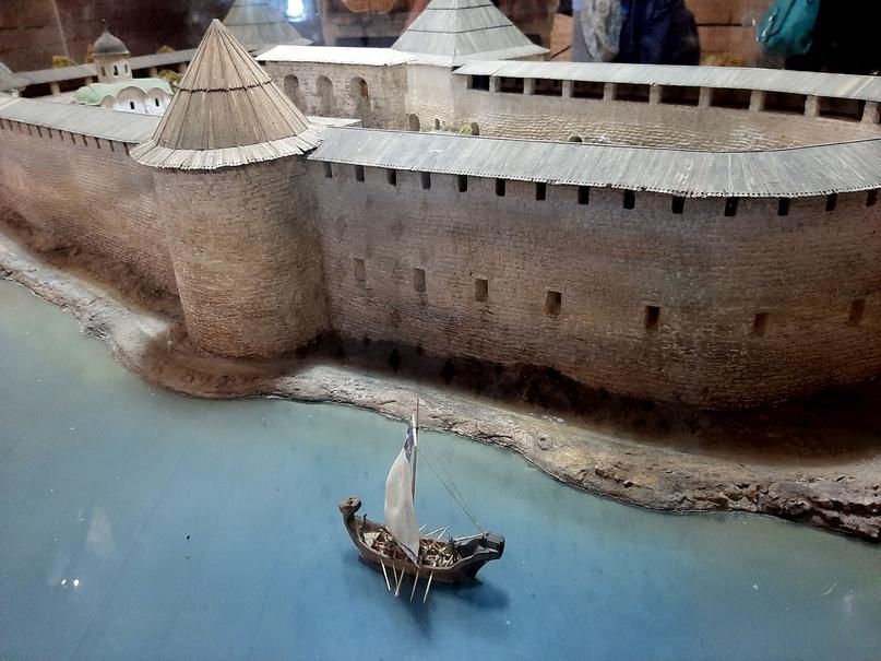 Старая Ладога. Экспонат музея археологии