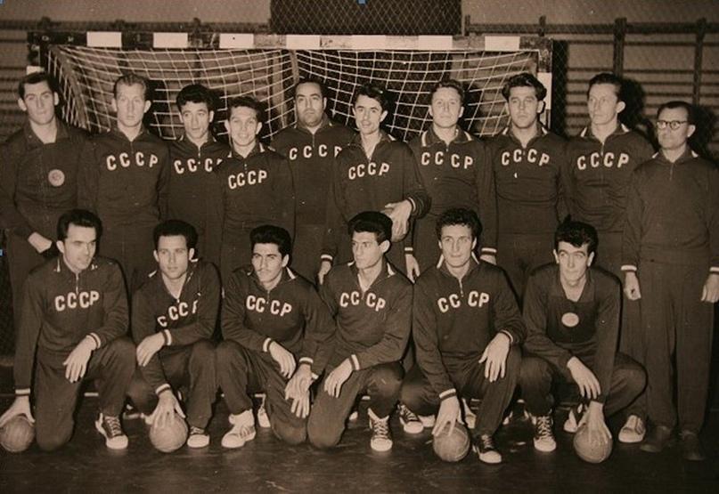1961. Первая сборная СССР по гандболу 7 на 7
