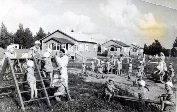 Дача для детского сада в СССР.