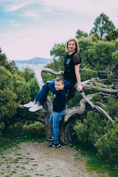 Фотосессия мама и ребенок в Новом Свете. 02.20