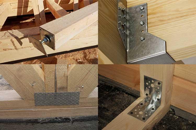 Крепежи для древесины